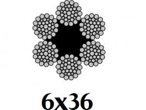 cáp 6x36 min
