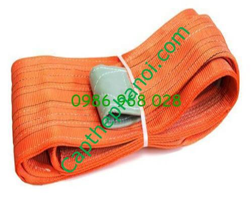 day cap cau hang webbing sling 10 tan 01