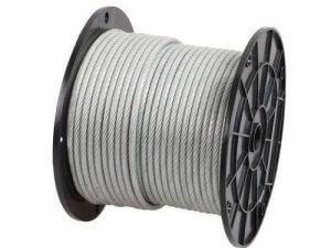 11mm ungalvanized steel wire rope 500x500