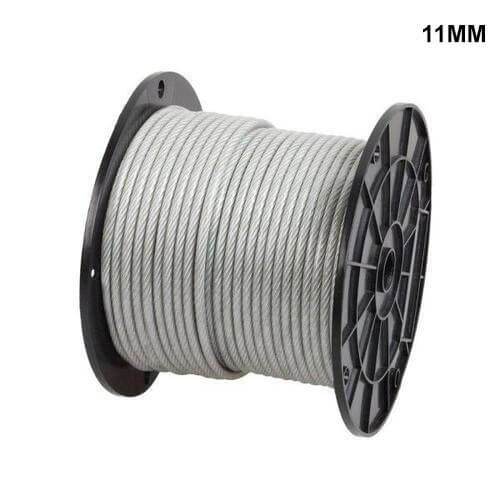 11mm ungalvanized steel wire rope