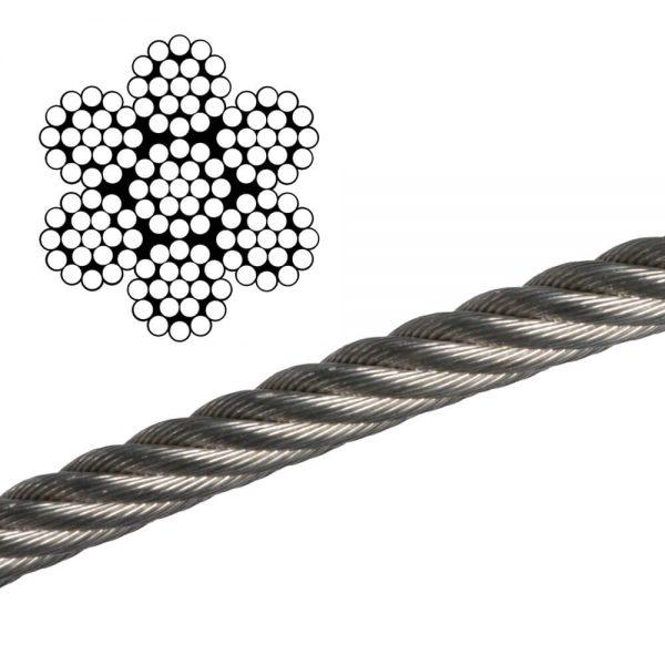 cáp thép mạ kẽm ứng dụng trong công nghiệp
